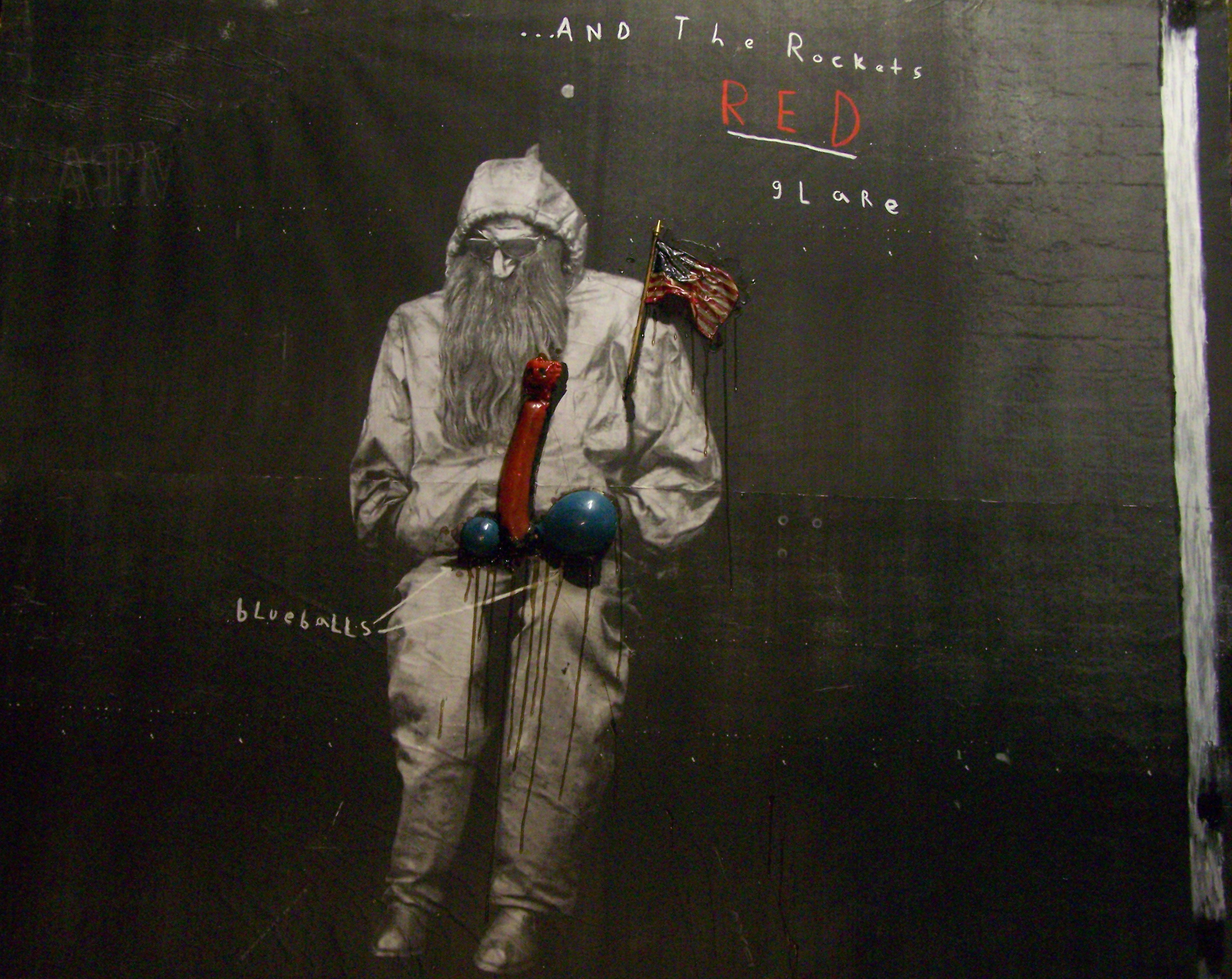 ...And The Rockets Red Glare by Chance Murray - Mixed media - 2013 1400.00