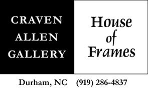 Framing Gift Certificate from Craven Allen Gallery House of Frames $100 Framing Gift Certificate from Craven Allen Gallery House of Frames 100.00