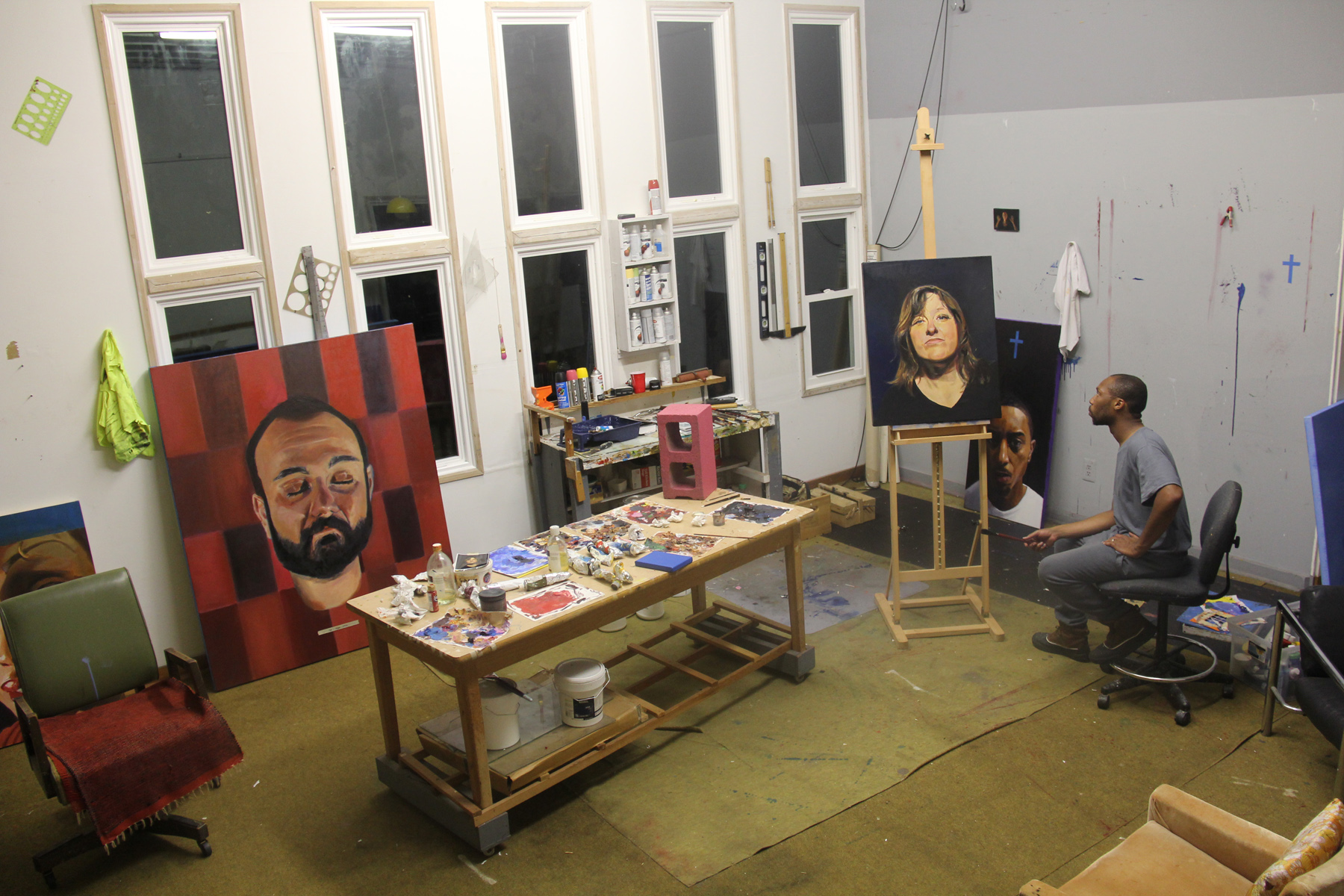 Studio Visit with William Paul Thomas. *Studio visit is included in the purchase of his painting Some Mexican Dude. 0.00