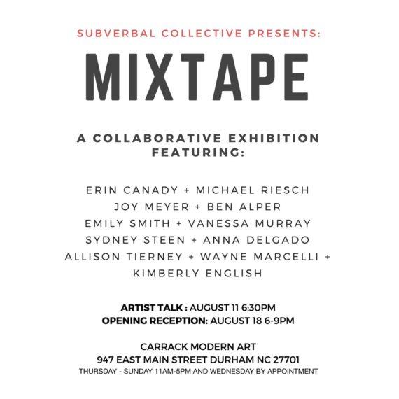 Subverbal Mixtape Poster 1