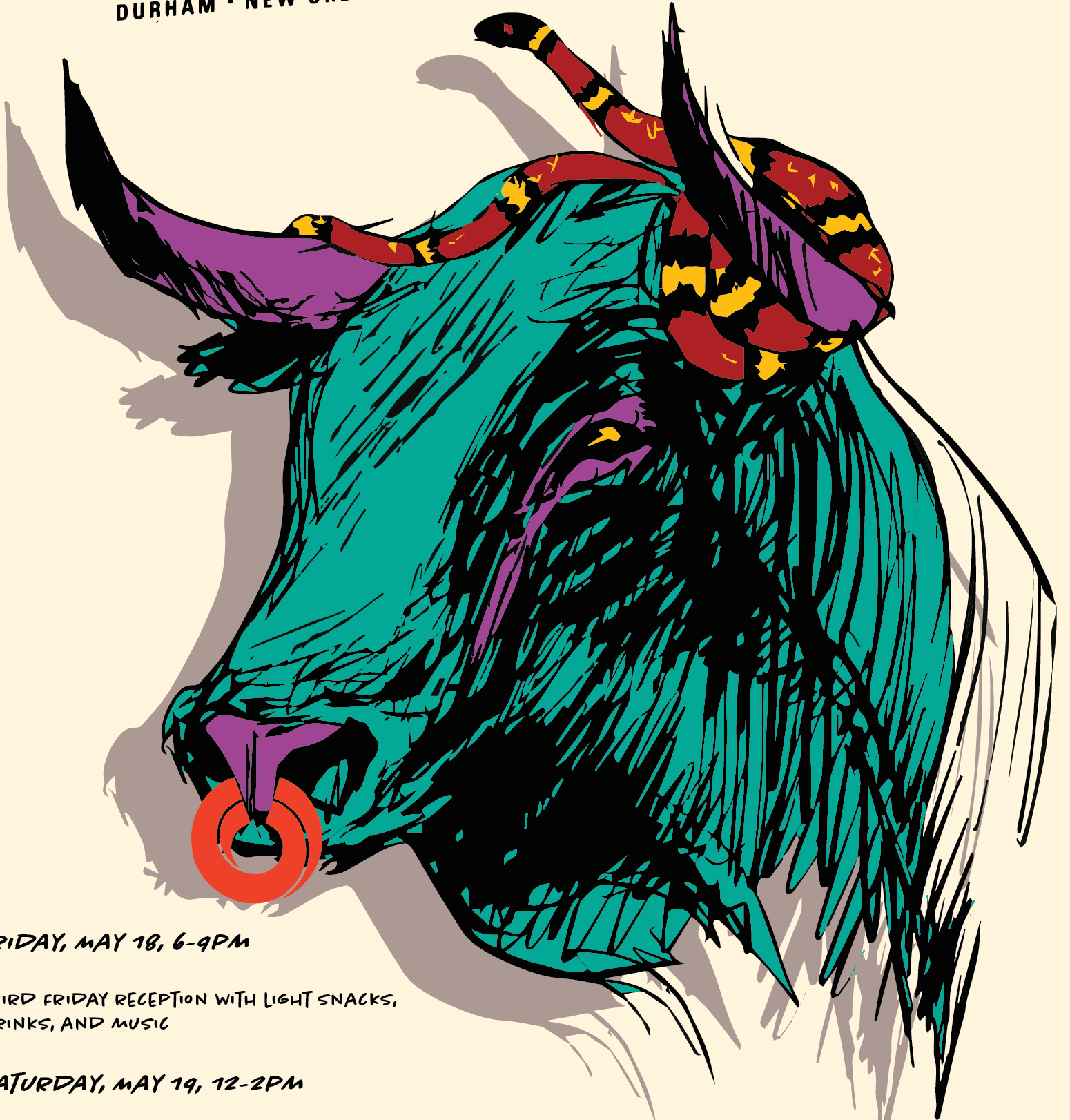 Bull Meets Bayou Carrack square