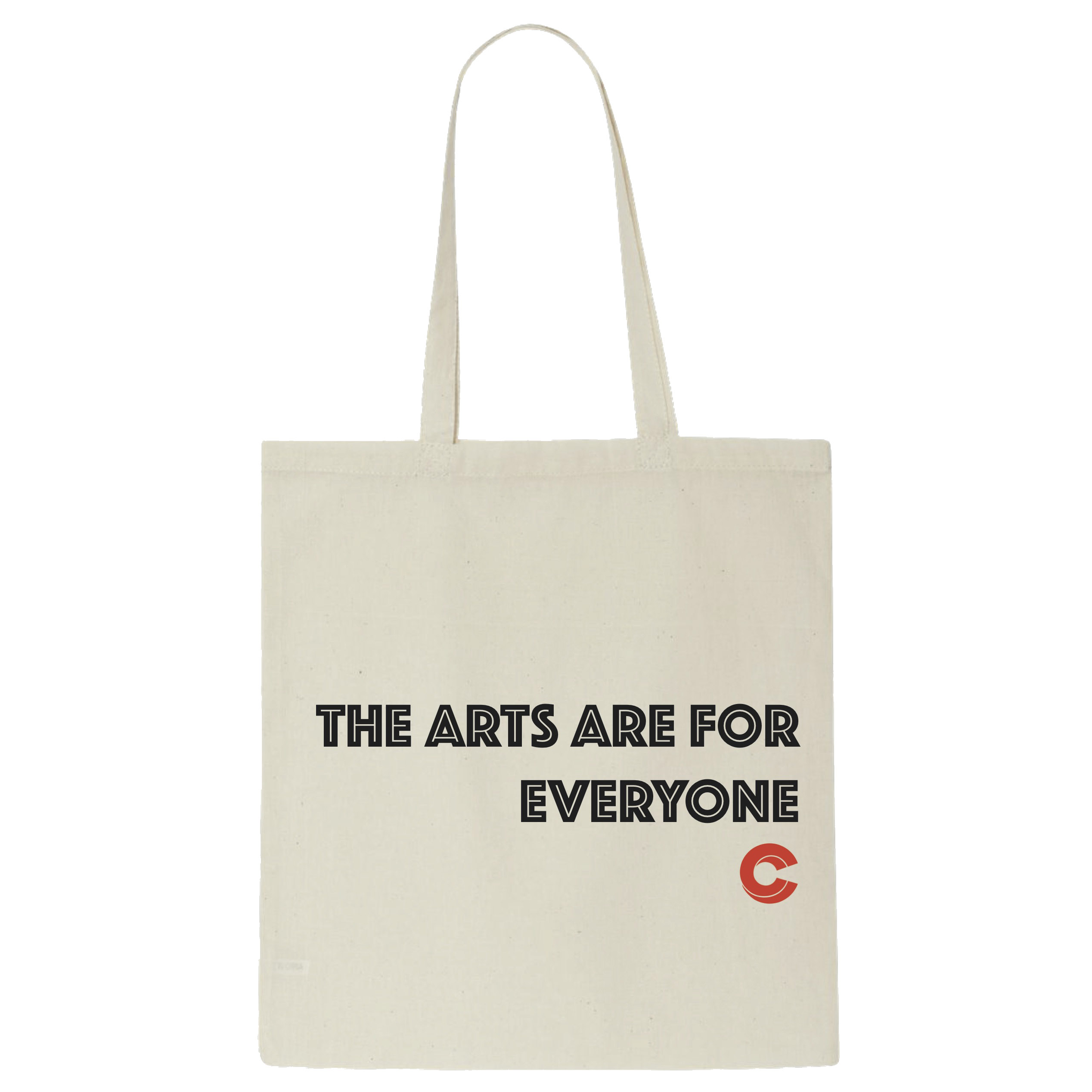 The Carrack ``The Arts Are For Everyone`` Tote Bag